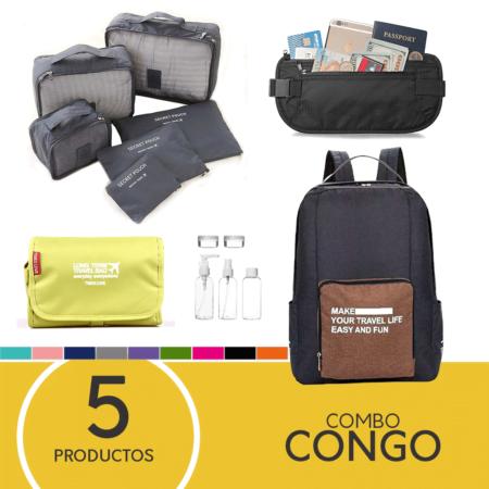 "Combo de viaje ""Congo"""