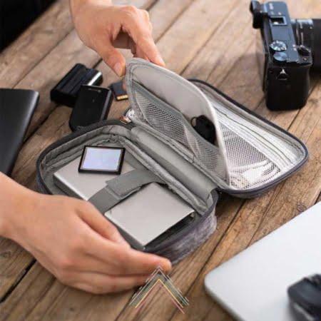 organizadoe de accesorios de electronica para viajes y oficina