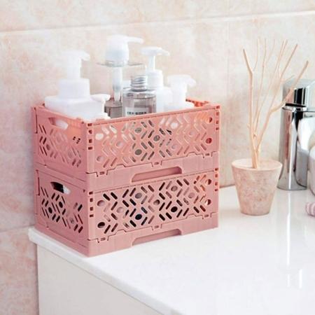 cajon-multiuso-plegable-rosa