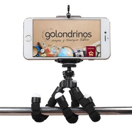 tripode flexible celular y cámara para selfie